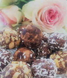 rawfood Sweet Treats, Stuffed Mushrooms, Snacks, Cookies, Chocolate, Vegetables, Desserts, Food, Stuff Mushrooms