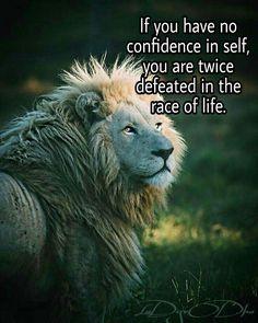 #Confidence #Courage