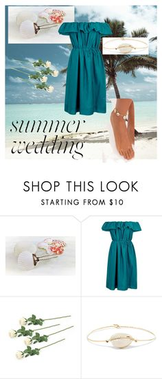 """""""Beach Wedding: Bridesmaid"""" by sschan ❤ liked on Polyvore featuring Paule Ka, Pascale Monvoisin and summerwedding"""