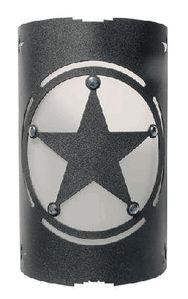 Sheriff Star Sconce