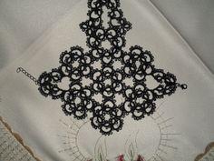 Gothic tatted glovesbracelet by carmentatting on Etsy