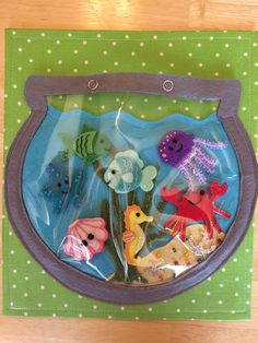 Fishbowl Quiet Book Page