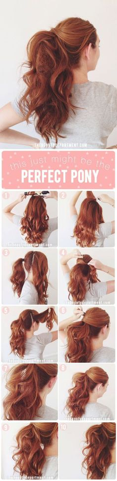 How to achieve the perfect pony More