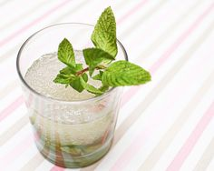 Cucumber-Mint French Gimlet Cocktail Recipe with St-Germain via Oh So Beautiful Paper (12)