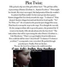 . Nooo! Wait, it would be th same story but Prim as Katniss and Rory as Peeta