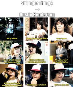 tumblr, dustin, and funny image