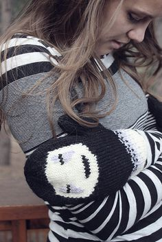 Ravelry: No-Face Mittens pattern by Katelynne Sherrell