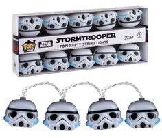 Disney Star Wars Funko Stormtrooper Party String Lights