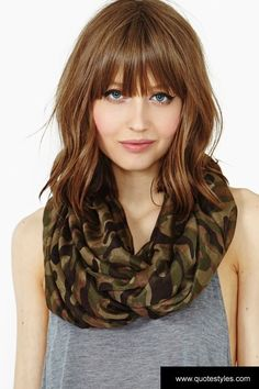Image result for mid length hairstyles with fringe