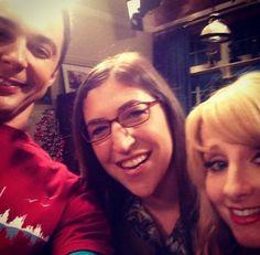 The Big Bang Theory - Jim Parsons, Mayim Bialik and Melissa Rauch! #BigBangTheory