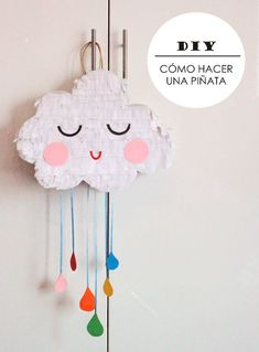 European Inspired Design - Our Work Featured in At Home. Pinata Party, Festa Party, Diy Party, Fun Crafts, Diy And Crafts, Paper Crafts, Diy For Kids, Crafts For Kids, Deco Ballon