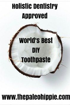 This simple DIY recipe not only whitens, it fights gum disease! Best Toothpaste, Homemade Toothpaste, Toothpaste Recipe, Foods For Healthy Skin, Healthy Teeth, Homemade Body Care, Best Teeth Whitening Kit, Natural Beauty Recipes, Gum Health
