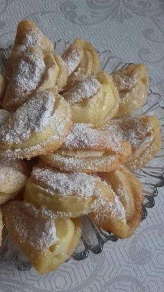 Polish Desserts, Polish Recipes, No Bake Desserts, Delicious Desserts, Yummy Food, Easy Blueberry Muffins, Cake Recipes, Dessert Recipes, Banana Pudding Recipes