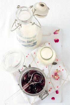 cherry rose coconut ice cream