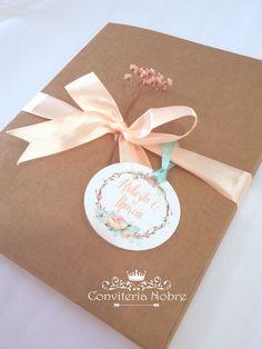 Convite para casamento rustico box