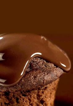 Receta: Muffins de Chocolate - Recetas de Postres de Chocolate.