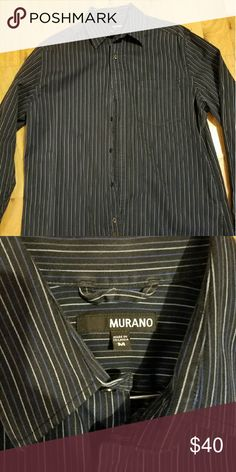 Men shirt Like new Murano Shirts Casual Button Down Shirts