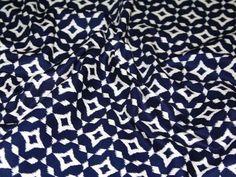 "Mint To Be Collection Cotton Quilting Fabric - Navy Ikat - Fat Quarter (20"" x 22""), http://www.amazon.co.uk/dp/B00JVSG3WG/ref=cm_sw_r_pi_awdl_M.Pgvb0CY9QBA"
