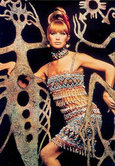 YSL African collection (1967)