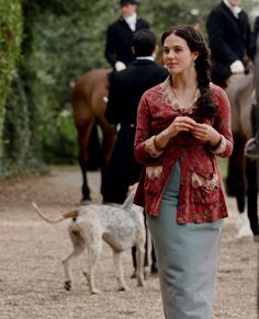 Jessica Brown Findlay as Lady Sybil in Downton Abbey (2010).