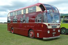 1951 Leyland Royal Tiger half deck bus body built by Mann Egerton Norwich reg JVB 908