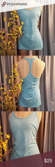 🌻🌺🌻NIKE DRI-FIT RACERBACK TANK!! SIZE:medium   BRAND:Nike   CONDITION:like new, no flaws    COLOR:light blue  Cute tank would be cute with a tennis skirt!   🌟POSH AMBASSADOR, BUY WITH CONFIDENCE!   🌟CHECK OUT MY OTHER ITEMS TO BUNDLE AND SAVE ON SHIPPING!   🌟OFFERS WELCOME!   🌟FAST SHIPPING! Nike Tops