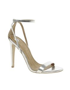 Image 1 of River Island Barely There Heeled Sandals