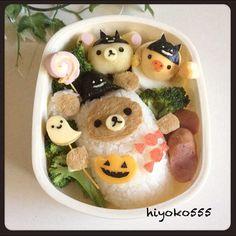 Halloween Rilakkuma lunch box