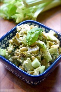 Avocado-Kip Salade