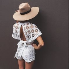 How To Boho: LACE BOHO OUTFIT