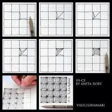 zentangle step by step - Google Search