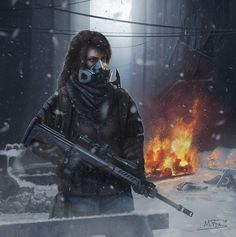 25 Wonderful Images Tom Clancy's The Division Apocalypse Art, Apocalypse Character, Division Games, Toms, Tom Clancy The Division, Shadowrun, Game Character, Wonderful Images, Female Characters