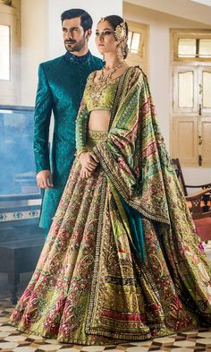 Make your wedding memorable in designer bridal lehenga choli Pakistani Wedding Outfits, Indian Bridal Outfits, Indian Bridal Lehenga, Indian Bridal Wear, Pakistani Wedding Dresses, Bridal Mehndi Dresses, Wedding Lehnga, Sabyasachi Lehenga Bridal, Latest Bridal Lehenga