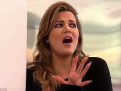 'Ah!' Khloe Kardashian reacted in disgustafter hearing too much personal information abou...