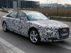2014 Audi A8 Erlkönig / Spy Shots #audia8 #spyshots