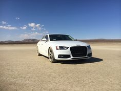 This Dirty Beauty is Aram Movsisyan's, Audi Brand Specialist, Audi A4 with the Titanium Package on the El Mirage Lake. We love our Audi's as much as you do.