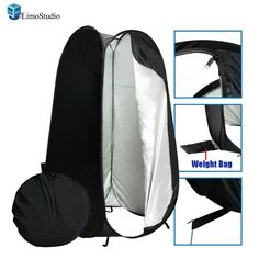 Amazon.com : LimoStudio 6 ft. Portable Indoor Outdoor Camping Photo Studio Pop up Changing Dressing Tent Fitting Room with Carrying Case, AGG348 : Photo Studio Shooting Tents : Camera & Photo