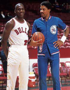 Legends of their own time: Jordan & Erving.