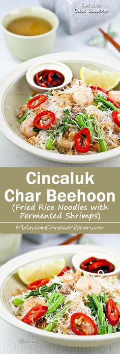 Malaysian kerabu beehoon rice noodle salad healthy malaysian fermented small shrimps give this cincaluk char beehoon rice noodles its distinctive umami flavor malaysian cuisinemalaysian forumfinder Images