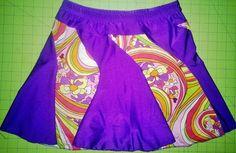 Running skirt .Razzle Dazzle running skort by ByrdSportswear on Etsy, $40.00