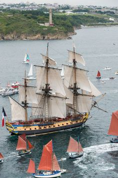Hermione: The arrival in pictures Hermione, Bateau Pirate, Old Sailing Ships, Love Boat, Wooden Ship, Wooden Boats, Tall Ships, Boat Building, Model Ships