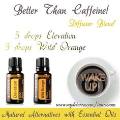 Essential Oil Diffuser Blend Pick Me Up - Energizing doTERRA