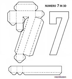 38 Ideas De Letras En 3d Letras En 3d Moldes Para Hacer Letras Letras De Cartón