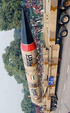 Agni-III(missile)- Type-Ballistic Range- 3,500 km Stages/Fuel- Two/Solid Payload Capacity- 1.5 tons Last Reported Test-April 2015*