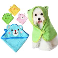 Cat Bathing cat bath harness - EverTrust(TM) Soft Pet Dog Cute Cartoon Pajamas Dog Bathrobe Multifunction Absorbent Pet Bath Towel Animal Puppy Cat Warm Blanket Pet Supplies >>> More info could be found at the image url. (This is an affiliate link) Towel Animals, Cat Bath, Dog Clothes Patterns, Dog Items, Puppy Clothes, Dog Pattern, Dog Sweaters, Dog Coats, Diy Stuffed Animals