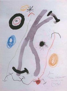 Joan Miro. Untitled. 1963