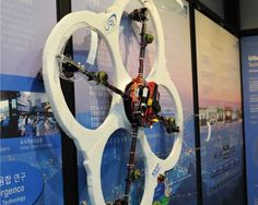 Fireproof FAROS Spider-Man Drone Can Cling to Walls