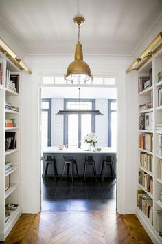 Small library + hallway
