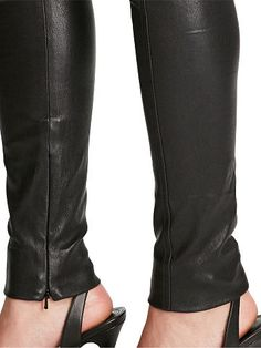 Polo Ralph Lauren Pantaloni Skinny in pelle - Polo Ralph Lauren Aderenti - Ralph  Lauren France