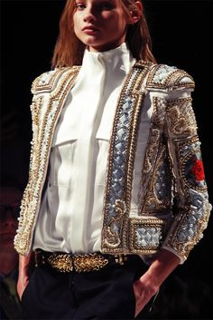 Amazing torrero Haute Couture jacket